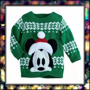 [Disney] Mickey Mouse Holiday Sweater